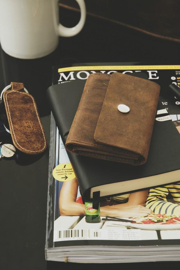 Scaramanga Leather Wallet