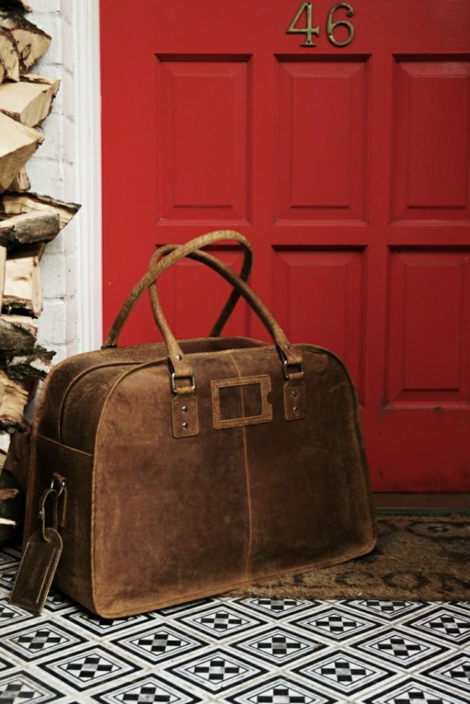 Scaramanga Leather Holdall