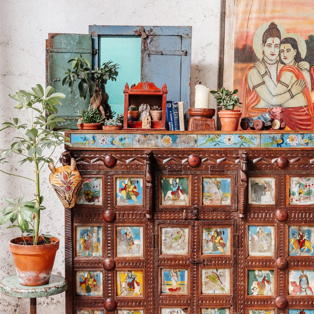 Antique Damchiya Chest from Rajasthan and Gurjarat