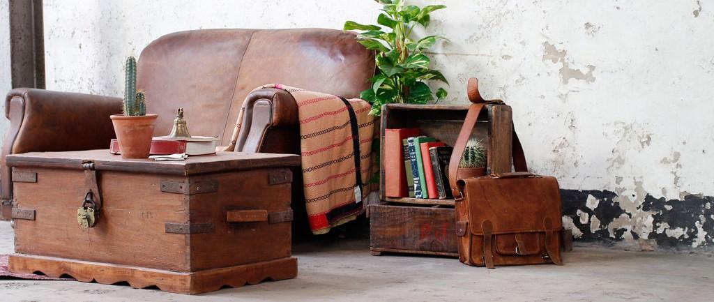 wooden storage chests