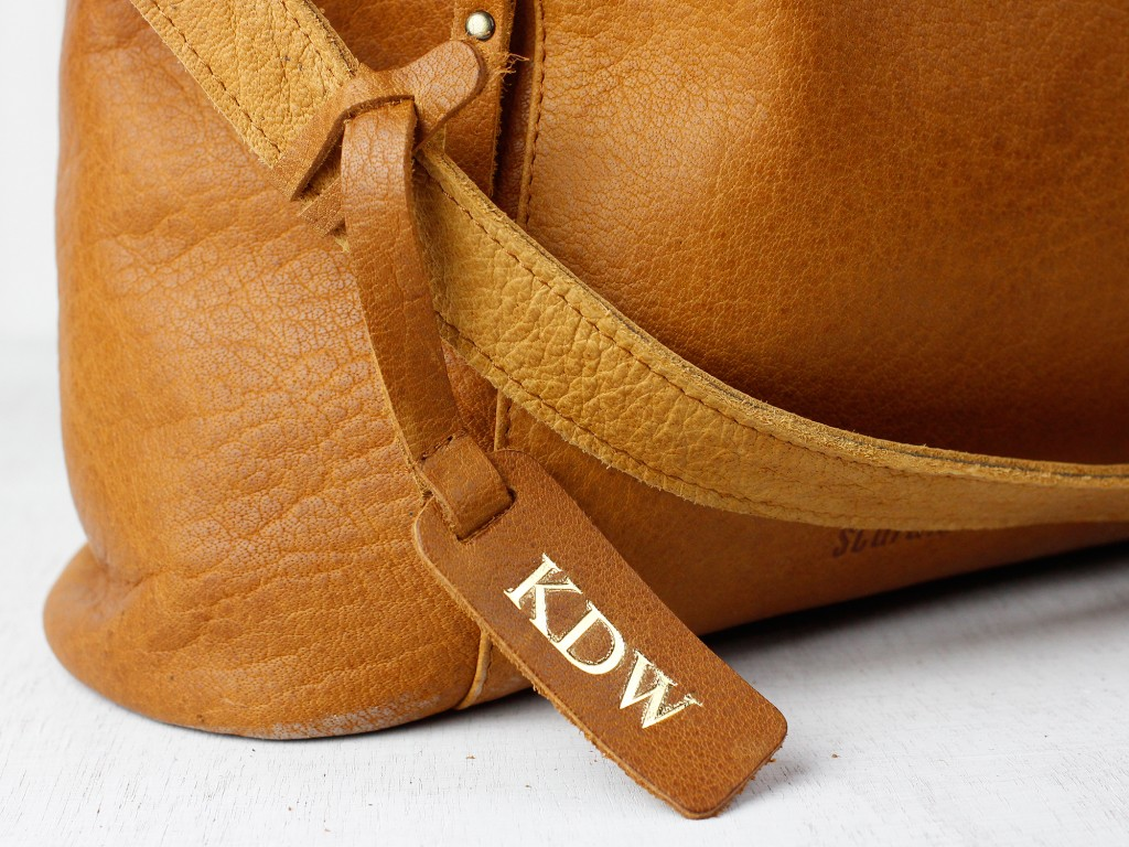 personalised leather handbags