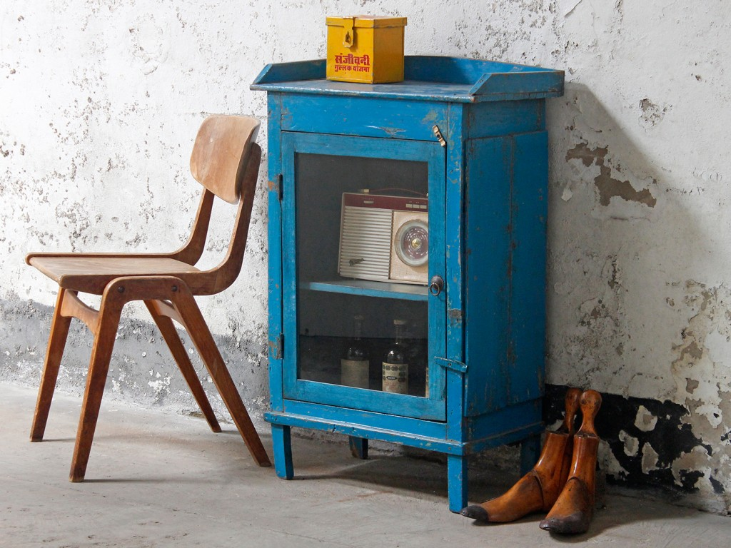wood cabinet from Scaramanga's vintage furniture collection