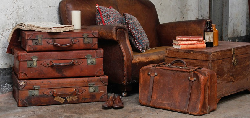 Looking After Vintage And Antique Trunks And Suitcases
