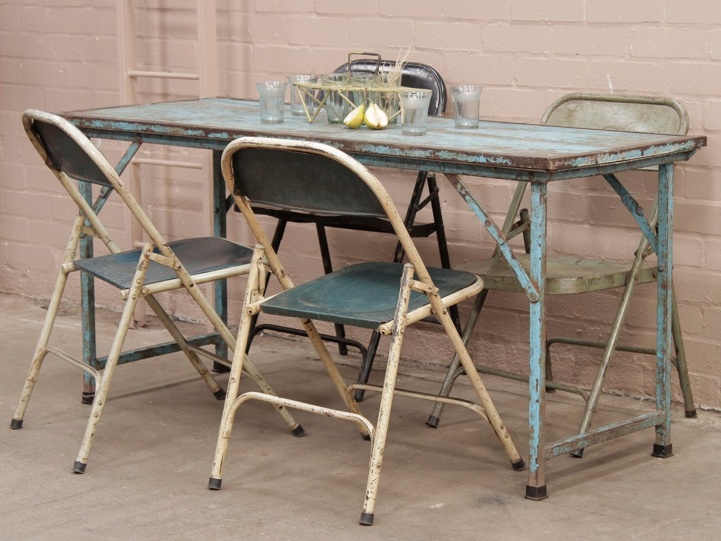 old folding tables