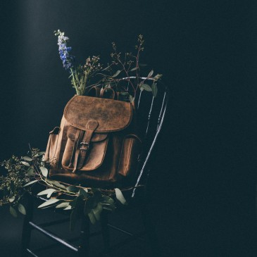 Photographer Daniela Constantini's Leather Backpack