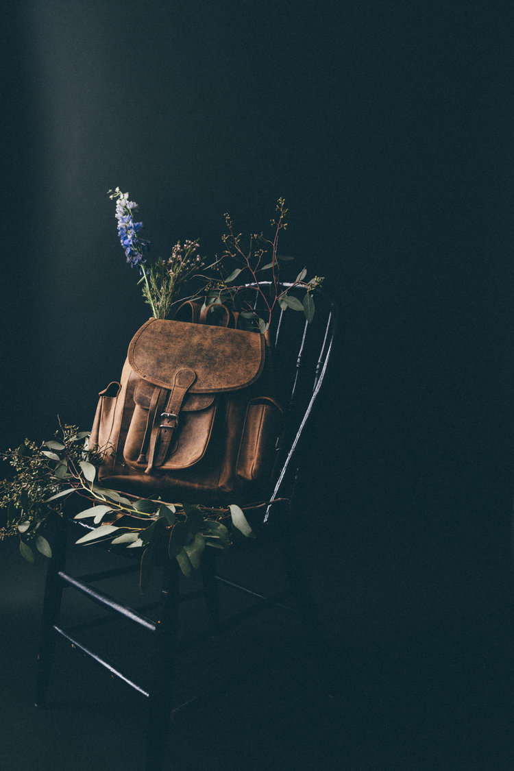 Photographer Daniela Constantini's Leather Backpack