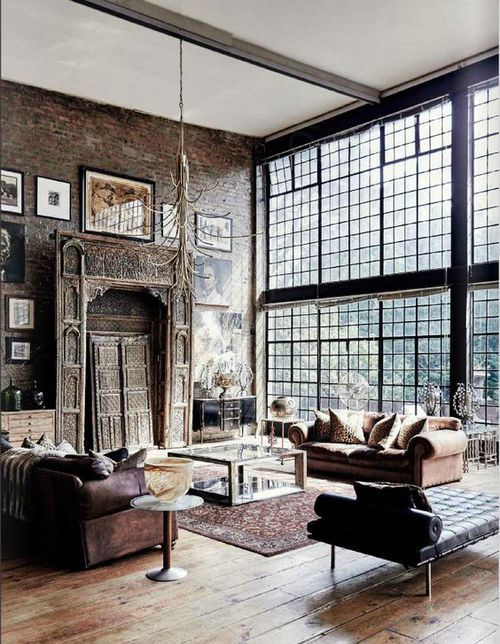 blending modern and vintage interior styles » scaramanga