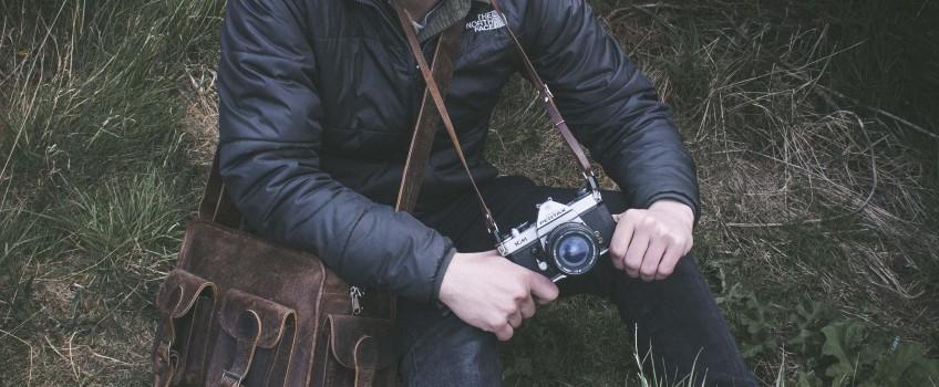 Leather Camera Bag | by Scaramanga