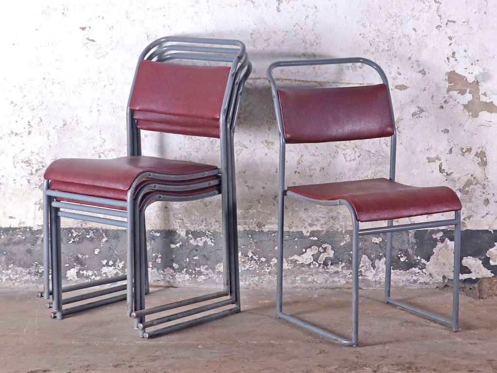 padded stacking chairs
