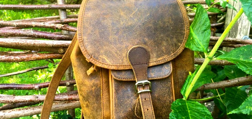 Scaramanga | Boho Mini Backpack In London