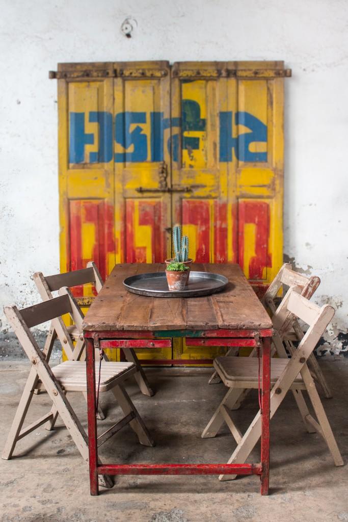 indian summer vintage furniture