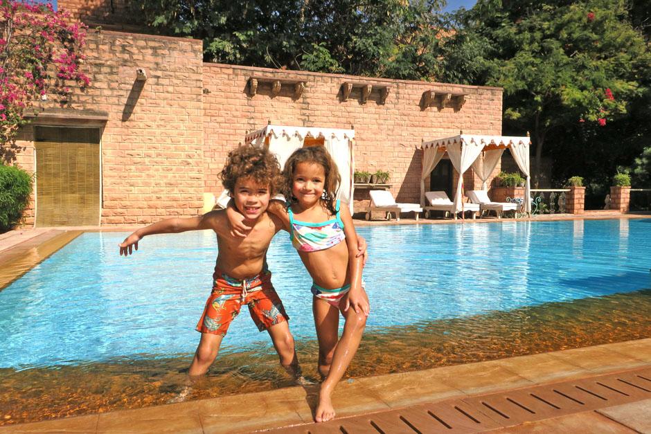 Pool at Devi Bhawan
