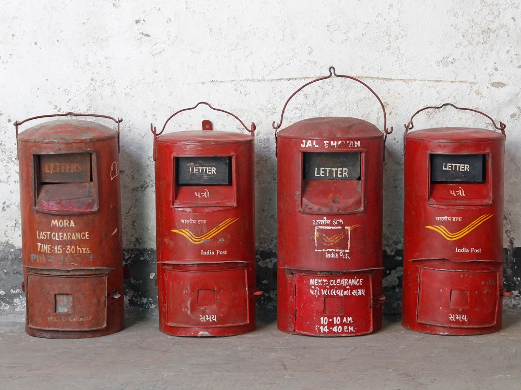 vintage post box from India