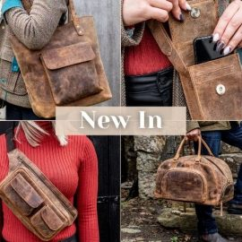 New In Leather Bags for AW21