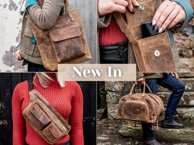 new in leather bags for A/W 21