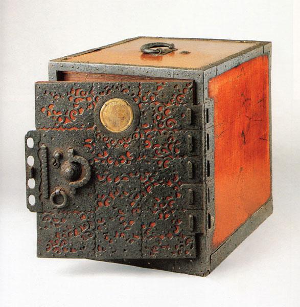 antique Funa Dansu - ship's safe