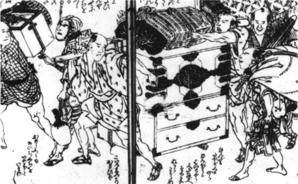 early Japanese tansu
