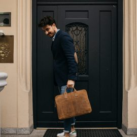 Upgrade Your Business Bag With Scaramanga | Leather Laptop Bag