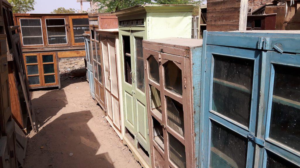 Buying vintage wardrobes from antique and vintage furniture dealers