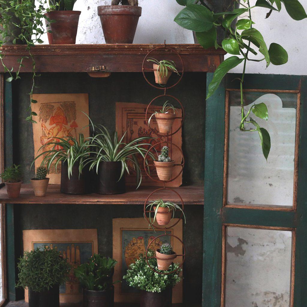 Spring Home Decor plant pots