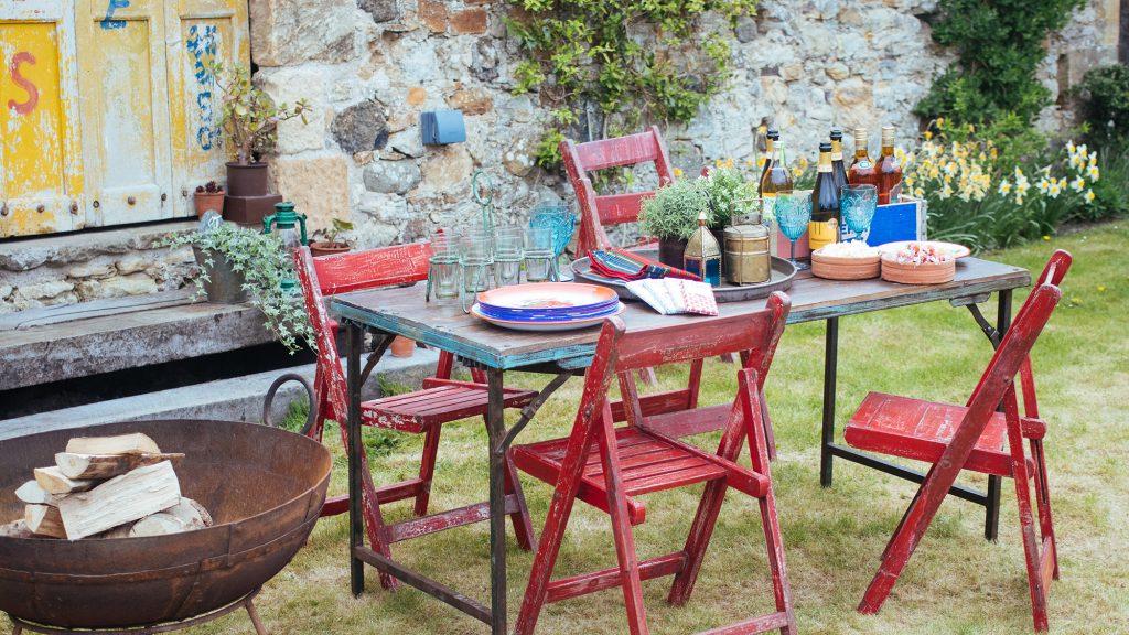 garden furntiure | garden party | scaramanga