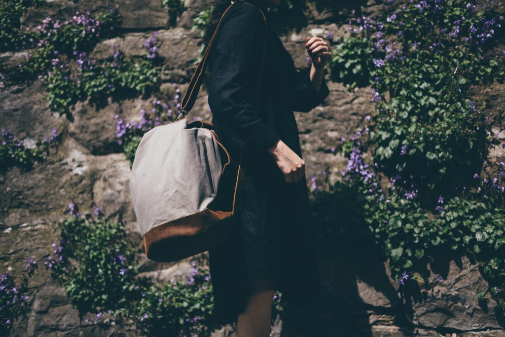 canvas & leather bags