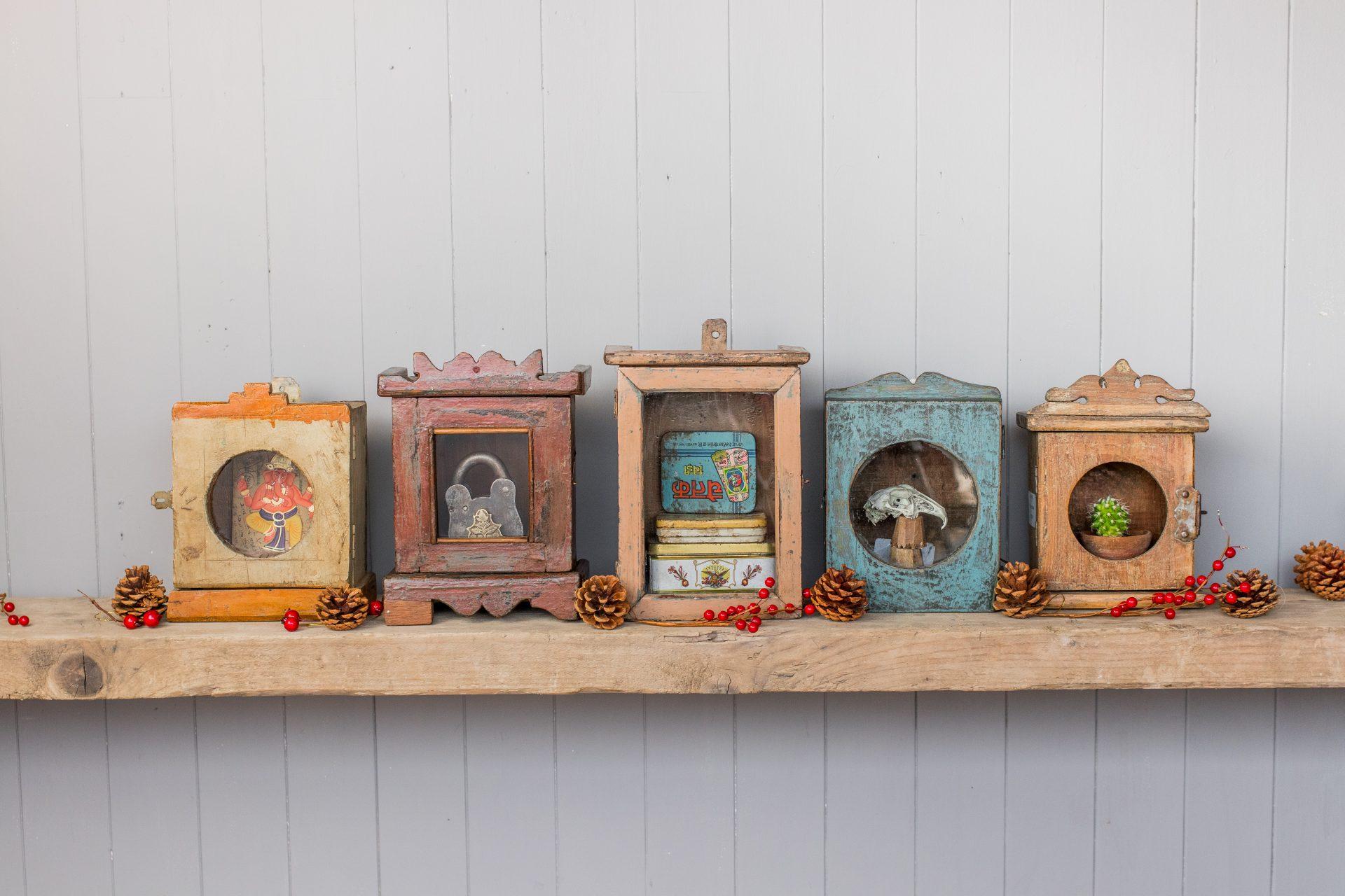vintage clock cases