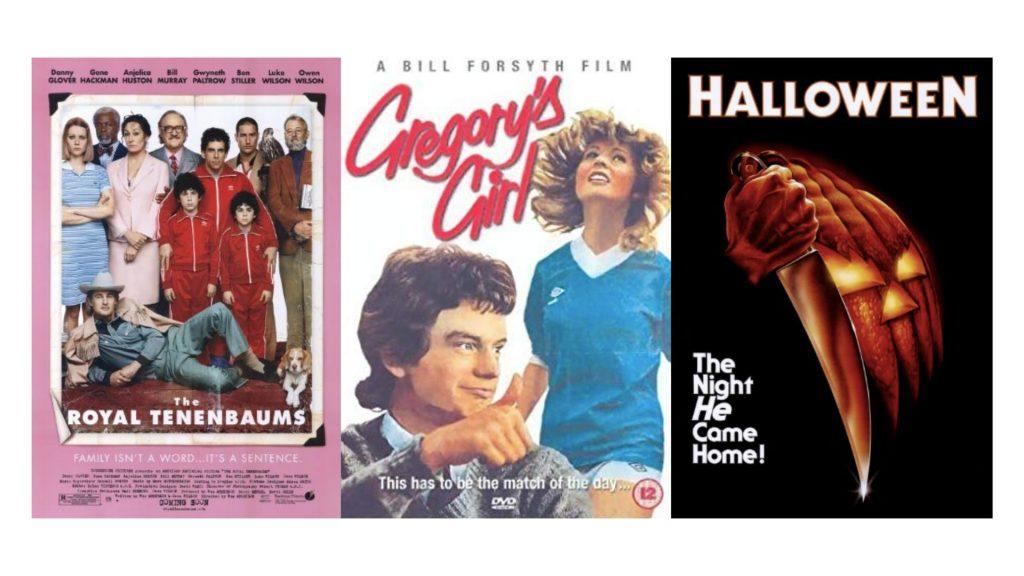 Tracys top 3 films