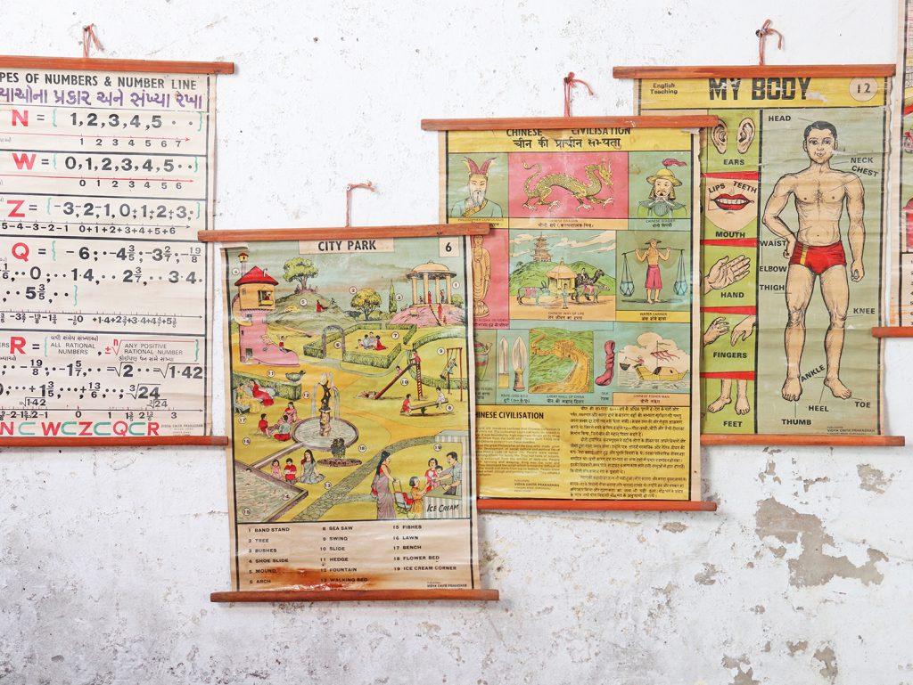 vintage school posters