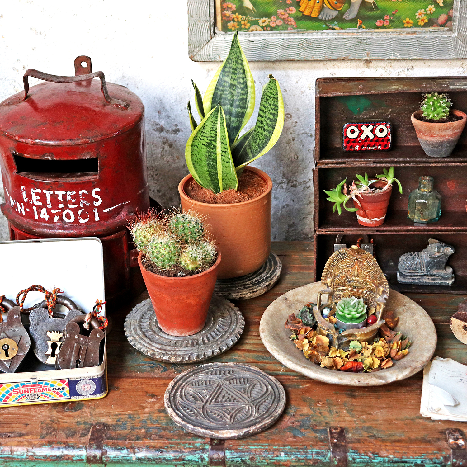 How to style your home for the Rustic Vogue trend