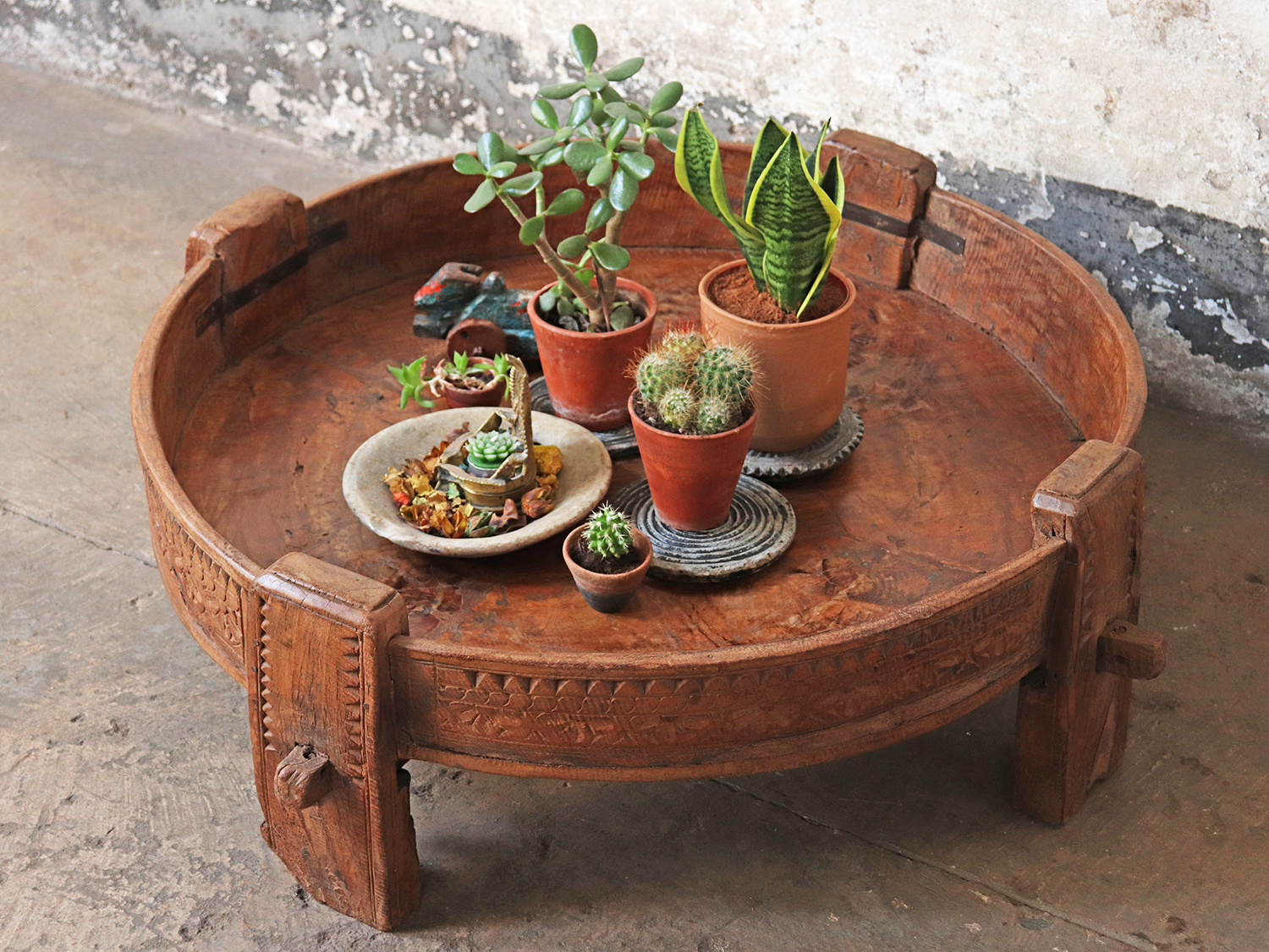 Use original and natural materials in your cottagecore styling