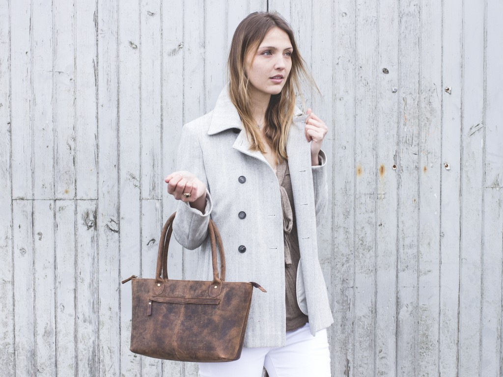 Bella Leather Handbag