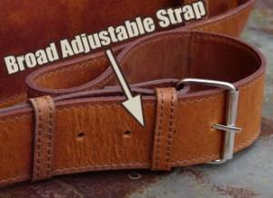 Sturdy, Adjustable Strap