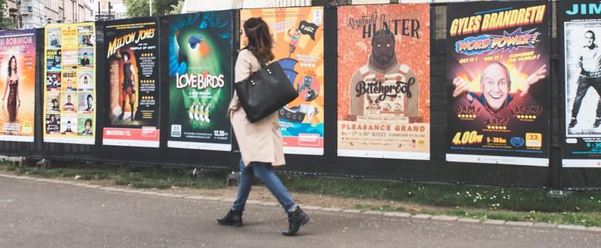 Scaramanga Leather Tote Bag at Edinburgh Fringe