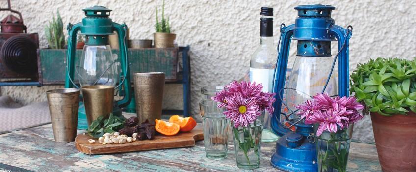 Indoor/Outdoor Garden Furniture and Tableware   by Scaramanga