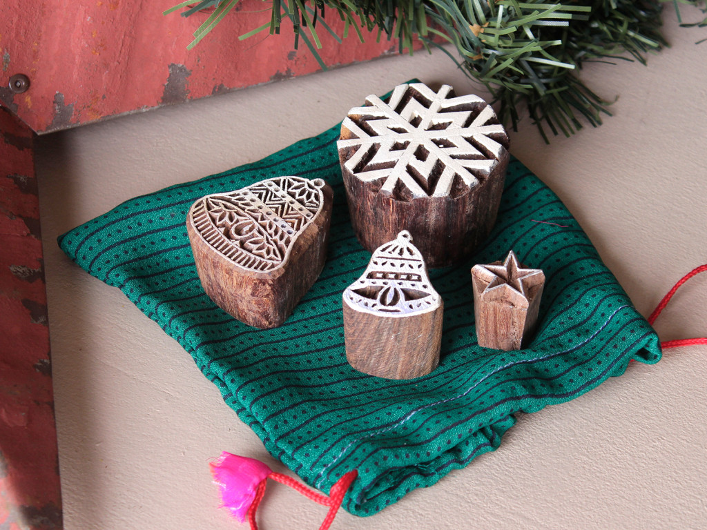 Christmas Printing Blocks