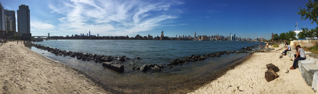 Manhattan from Williamsburg