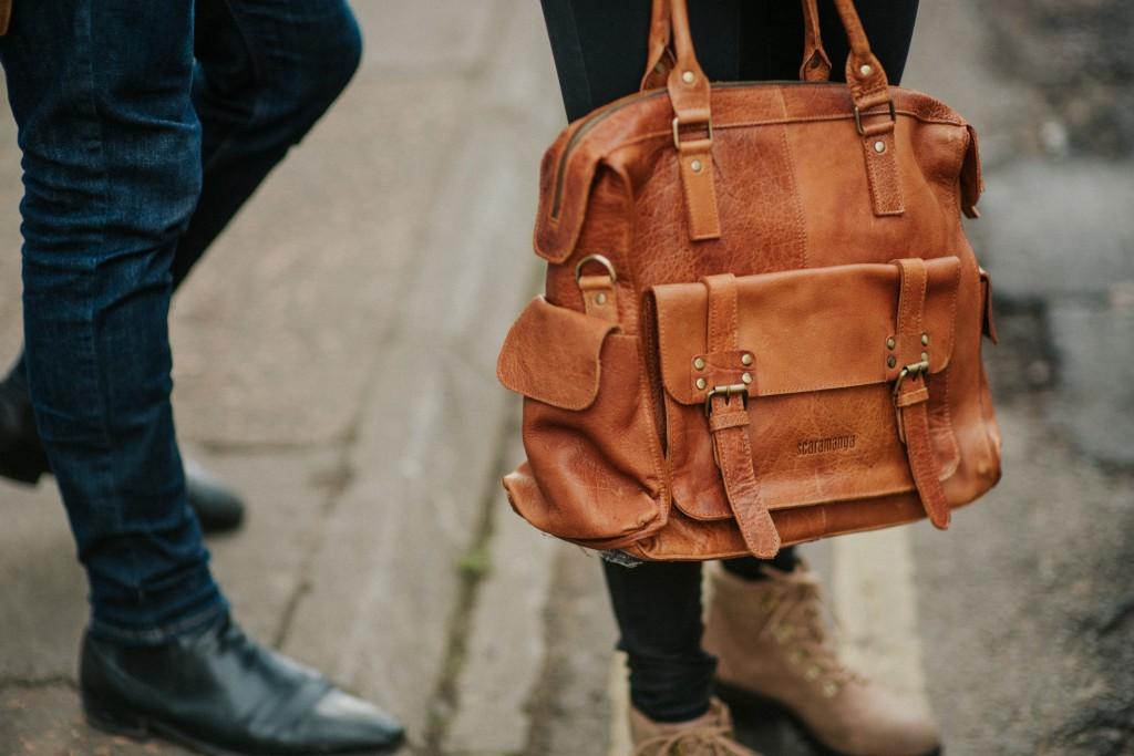 womens leather handbag