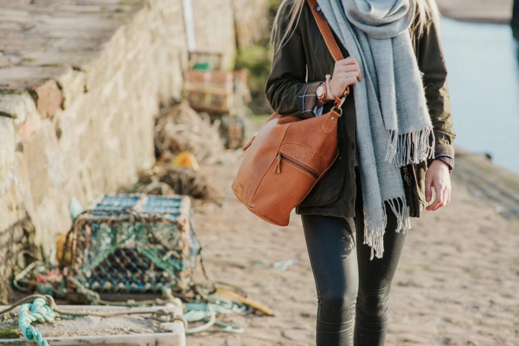 scaramanga leather handbags