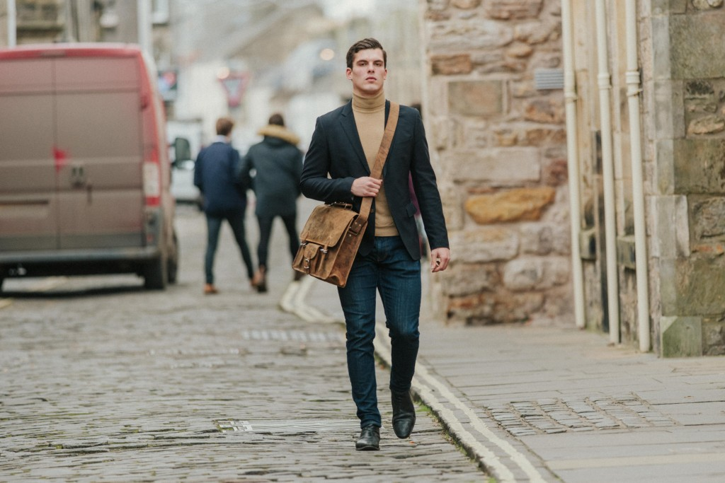 original leather satchel for men