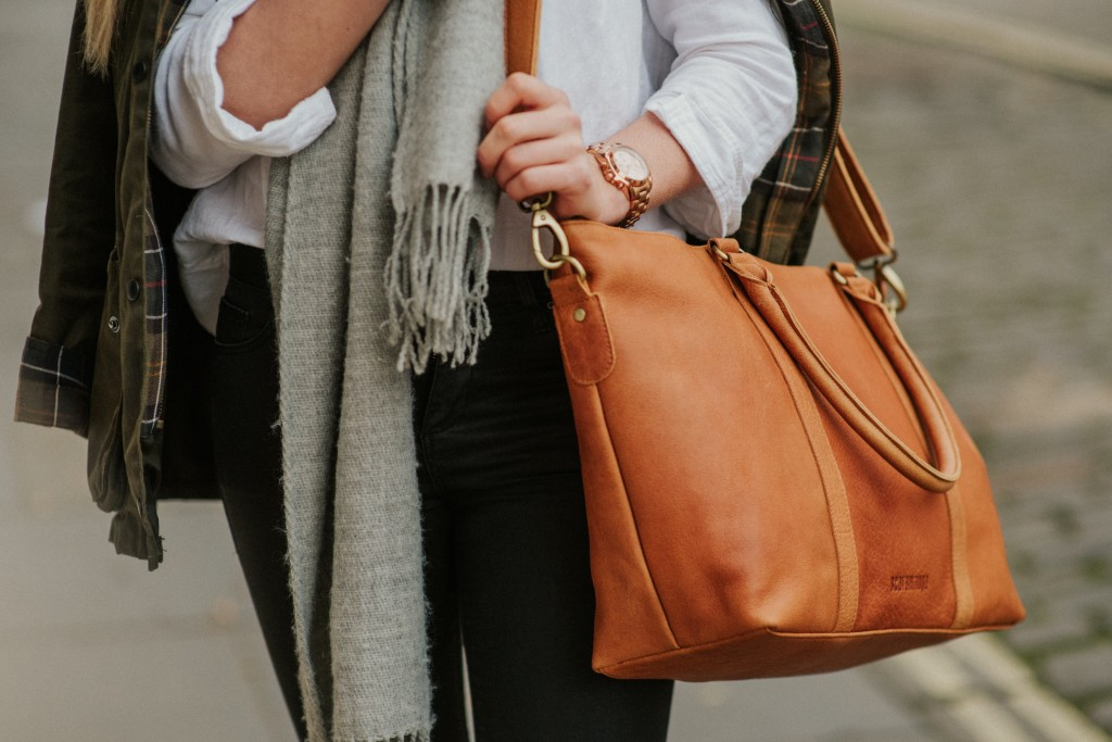 scaramanga leather handbags