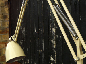 Anglepoise Trolley Lamp Found At An Auction