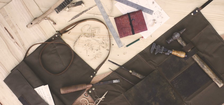 Leather & Canvas Work Aprons | by Scaramanga