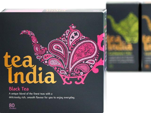 Black Tea Bags from Tea India, £3