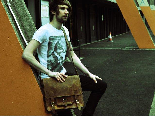 Small Overlander Leather Bag, £105