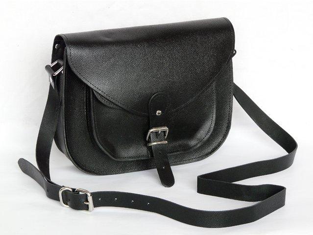 Black Leather Saddlebag, £52