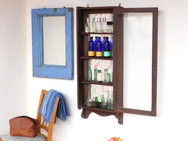 Vintage Bathroom Cabinet, £195