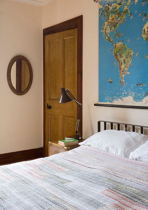 Vintage Bedroom Makeover by Scaramanga