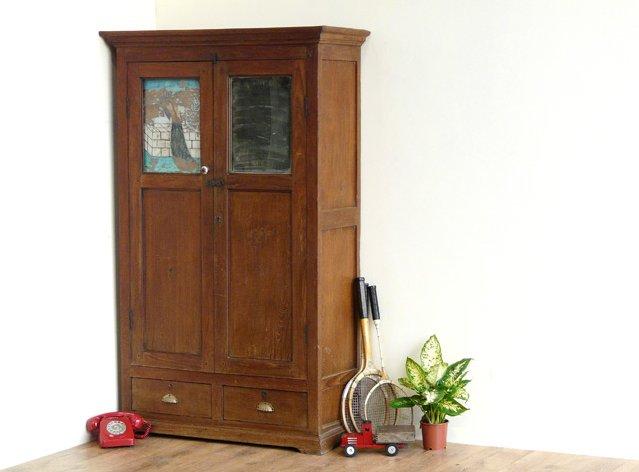 Vintage Colonial Armoire, £750