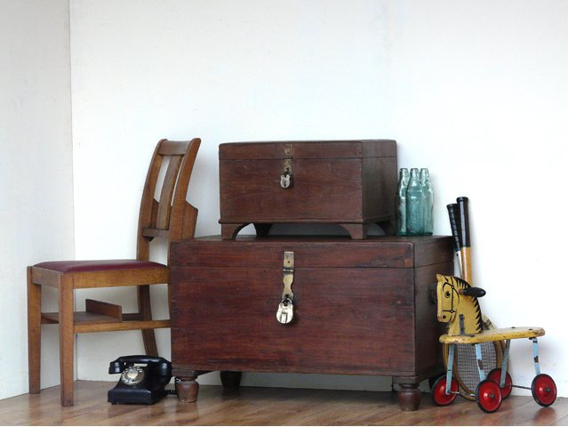 Old Wooden Box, £105